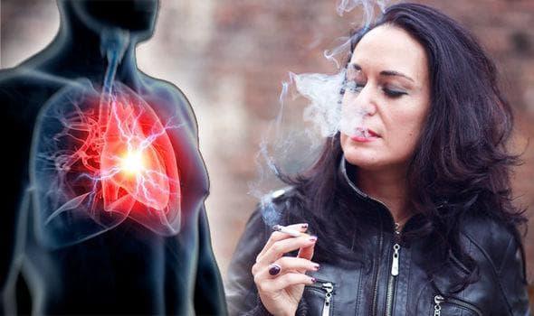 Тютюнопушене и сърдечна атака