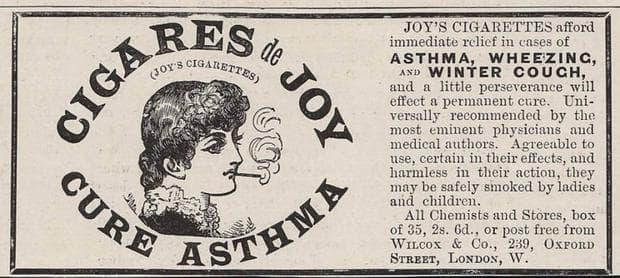 цигари срещу астма