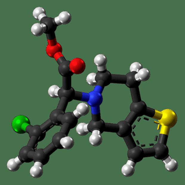 Молекула на клопидогрел
