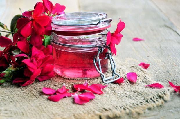 розов сироп