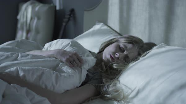 Изкривеният настрани врат е предпоставка за лош сън