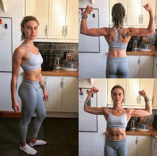 Емили тренира