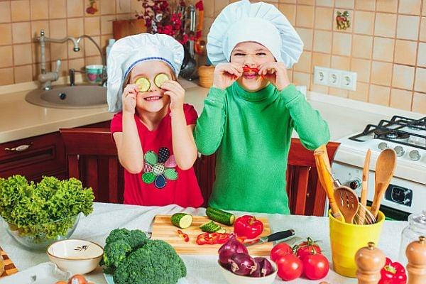 Зеленчуците могат да бъдат и забавни