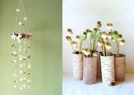 декорация с брезова кора