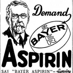 Плакат на Bayer