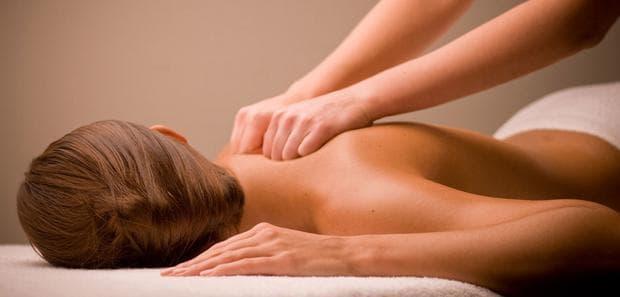 масаж на жена