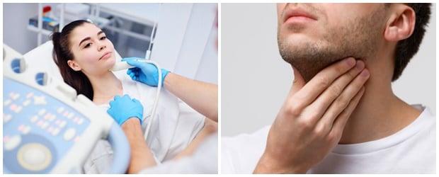 Диагностициране на заболявания на щитовидната жлеза