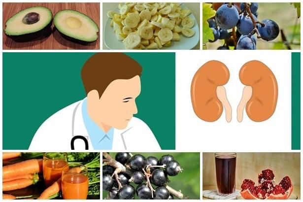 авокадо,банани,грозде,моркови,касис,нар