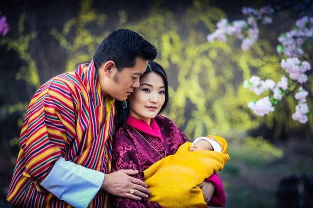 кралското семейство на Бутан