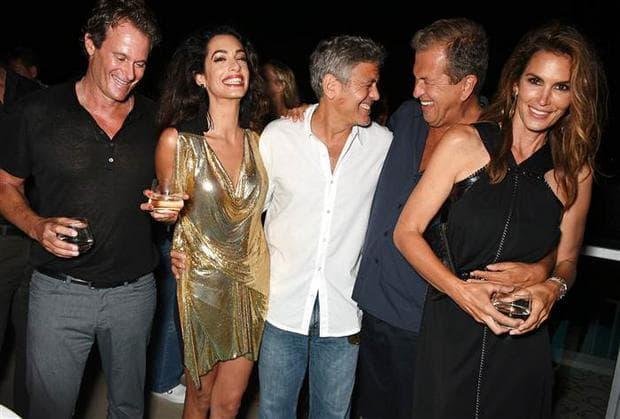 Джордж Клуни и приятели