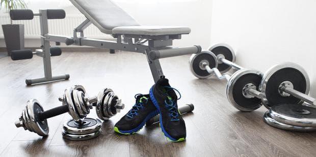 Дъмбели за домашен фитнес