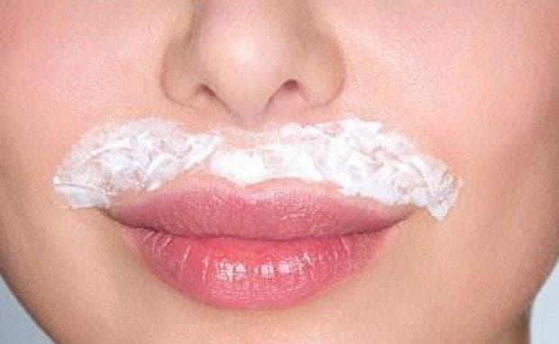 Домашна маска срещу пигментация над горната устна