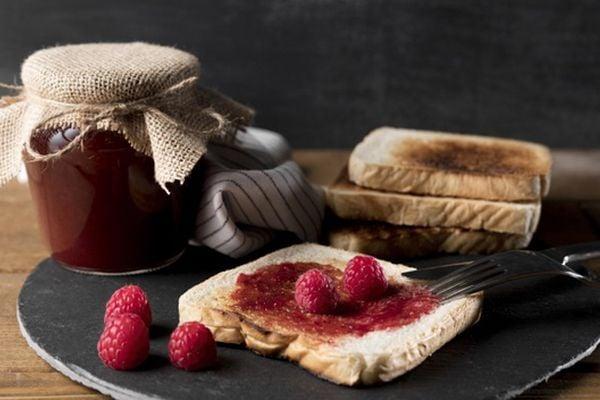 Домашно сладко от малини без захар.