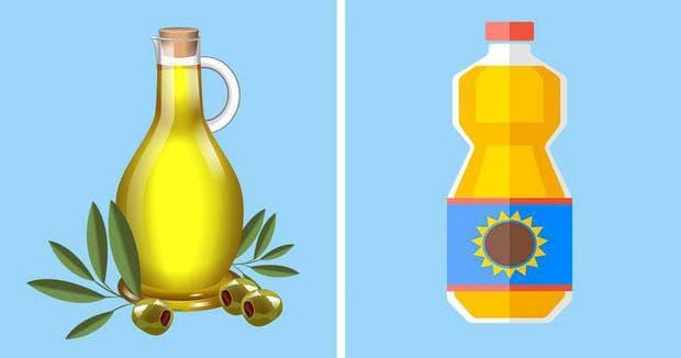 растително масло/ слънчогледово олио