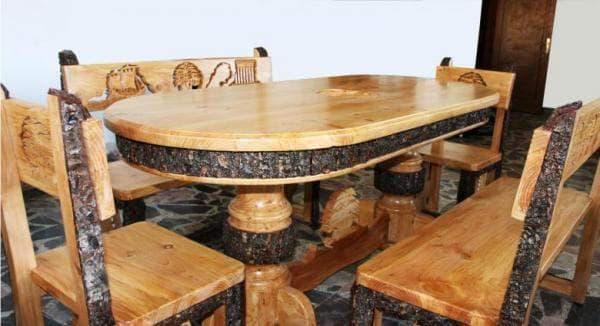 мебели от дървесина на ливански кедър
