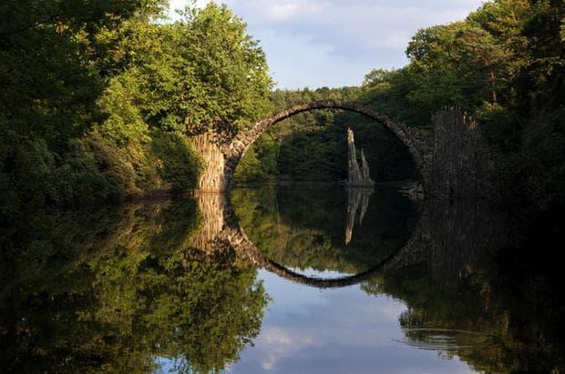 Дяволският мост, Германия