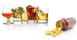 Едновременна употреба на лекарства с алкохол