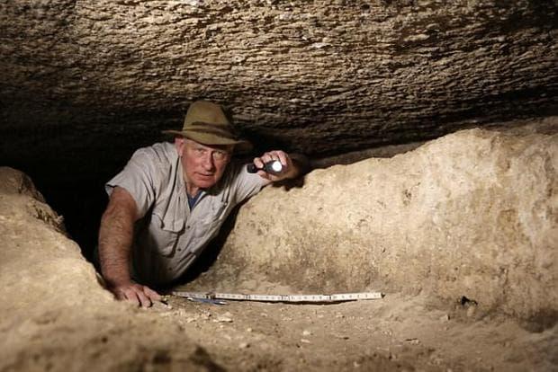 Археологът Марк Ленър