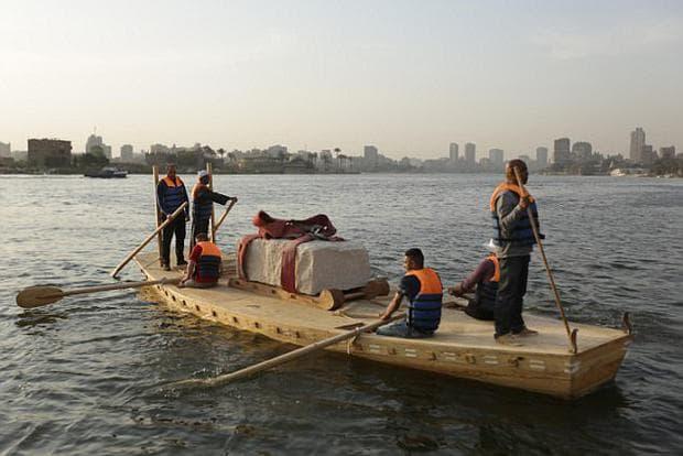 Реконструкция на древна египетска лодка