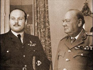 Цар Фарук и Чърчил