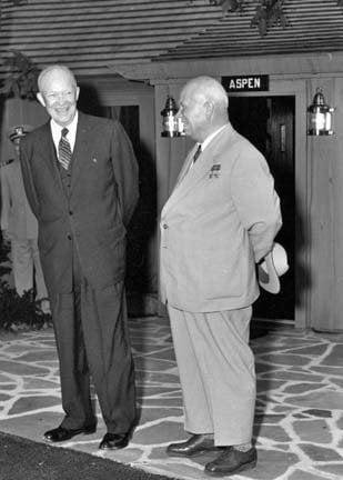 Айзенхауер и Хрушчов в Кемп Дейвид