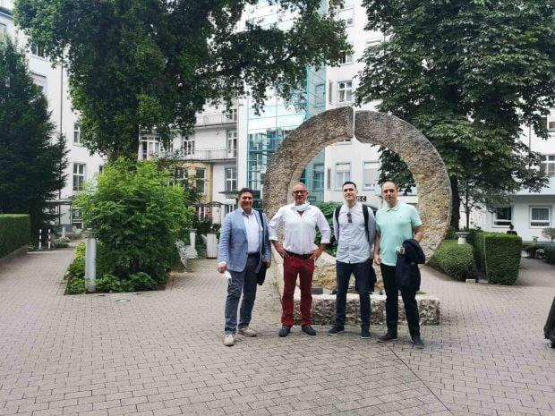 Екип от Вита на обучение в Германия