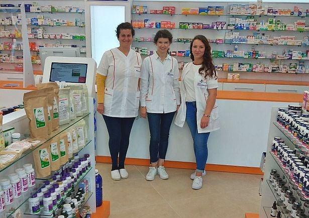Екип на аптека Фрамар 37, град Варна
