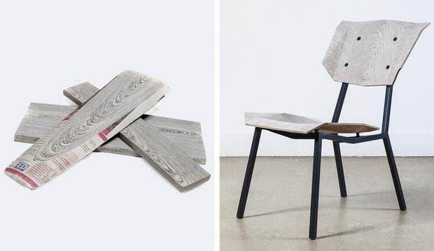 дървен материал за вестници