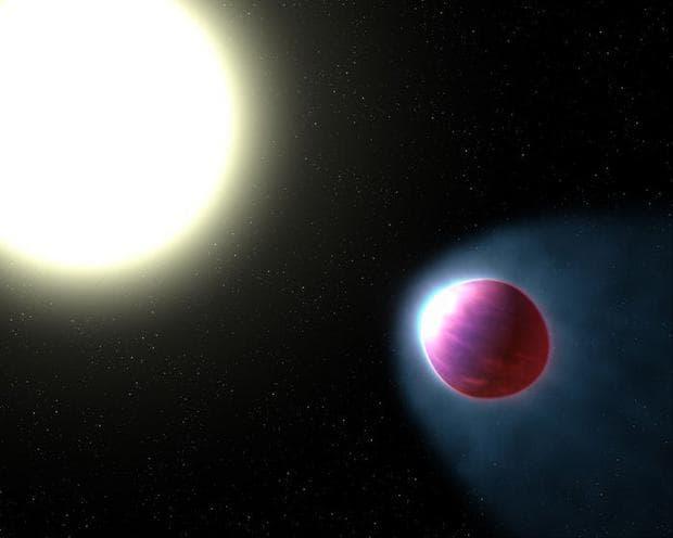 Звезда и екзопланета