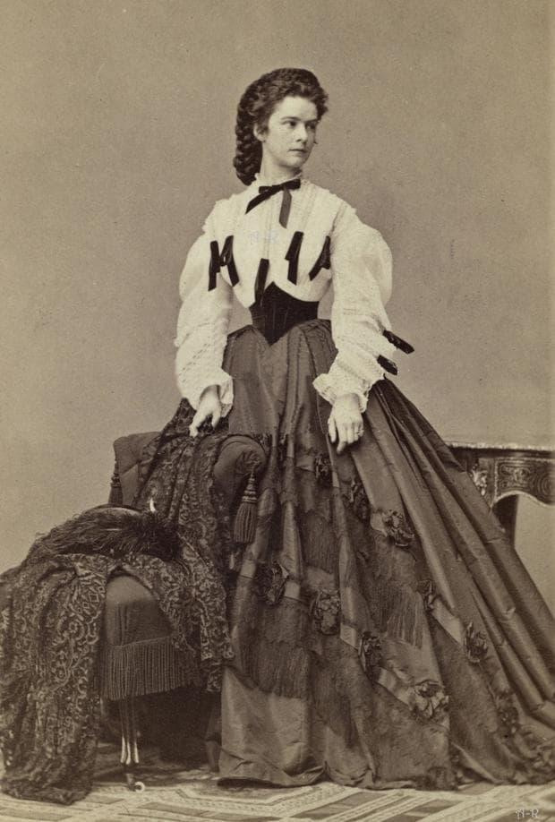 Императрица Елизабет Баварска , снимка