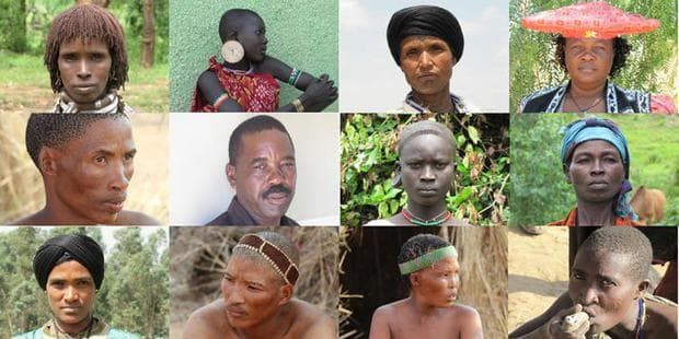 Африкански племена