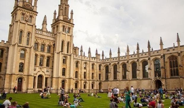 Оксфордския университет