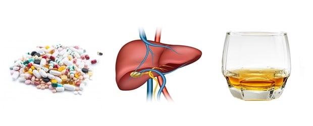Фактори, които повишават риска от увреждане на черния дроб