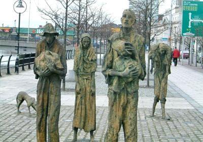 "Мемориален паметник ""Големият глад"" в Дъблин"