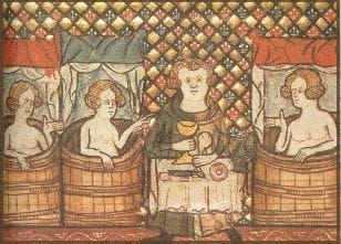 Ето как се къпели снатните хора през Тъмните векове