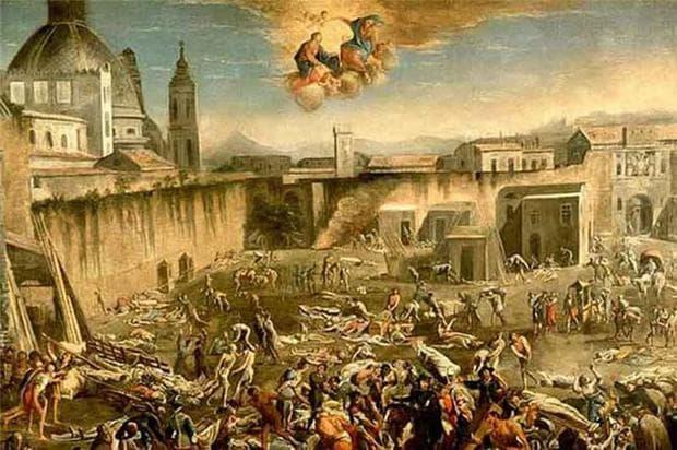 Юстиниановата чума, картина