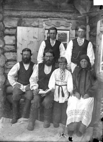 Членове на сектата на Скопците, фотография