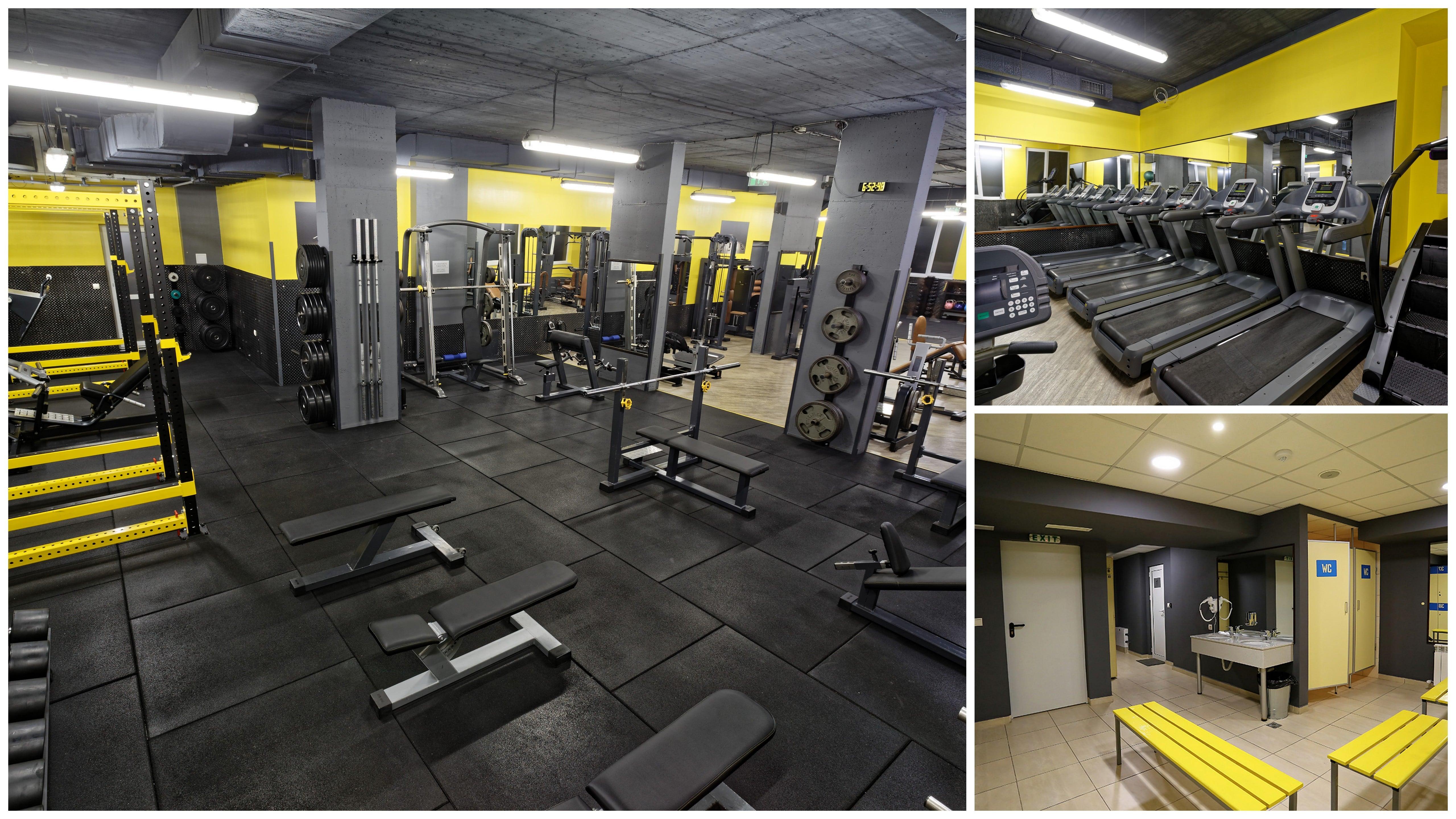 Денонощен фитнес център Fit Factory