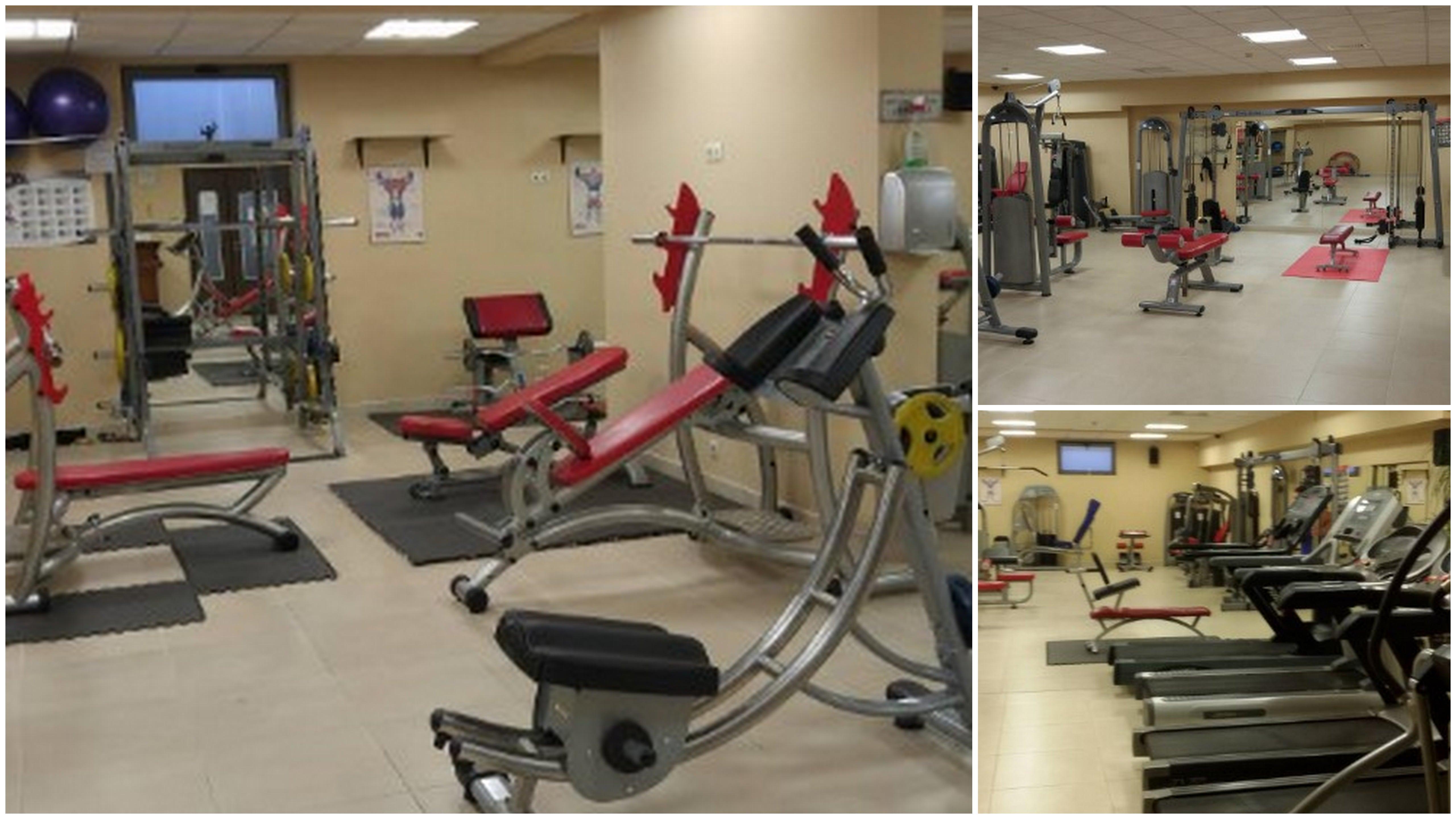 Фитнес зала Оптимус с център за оптимизиране на теглото