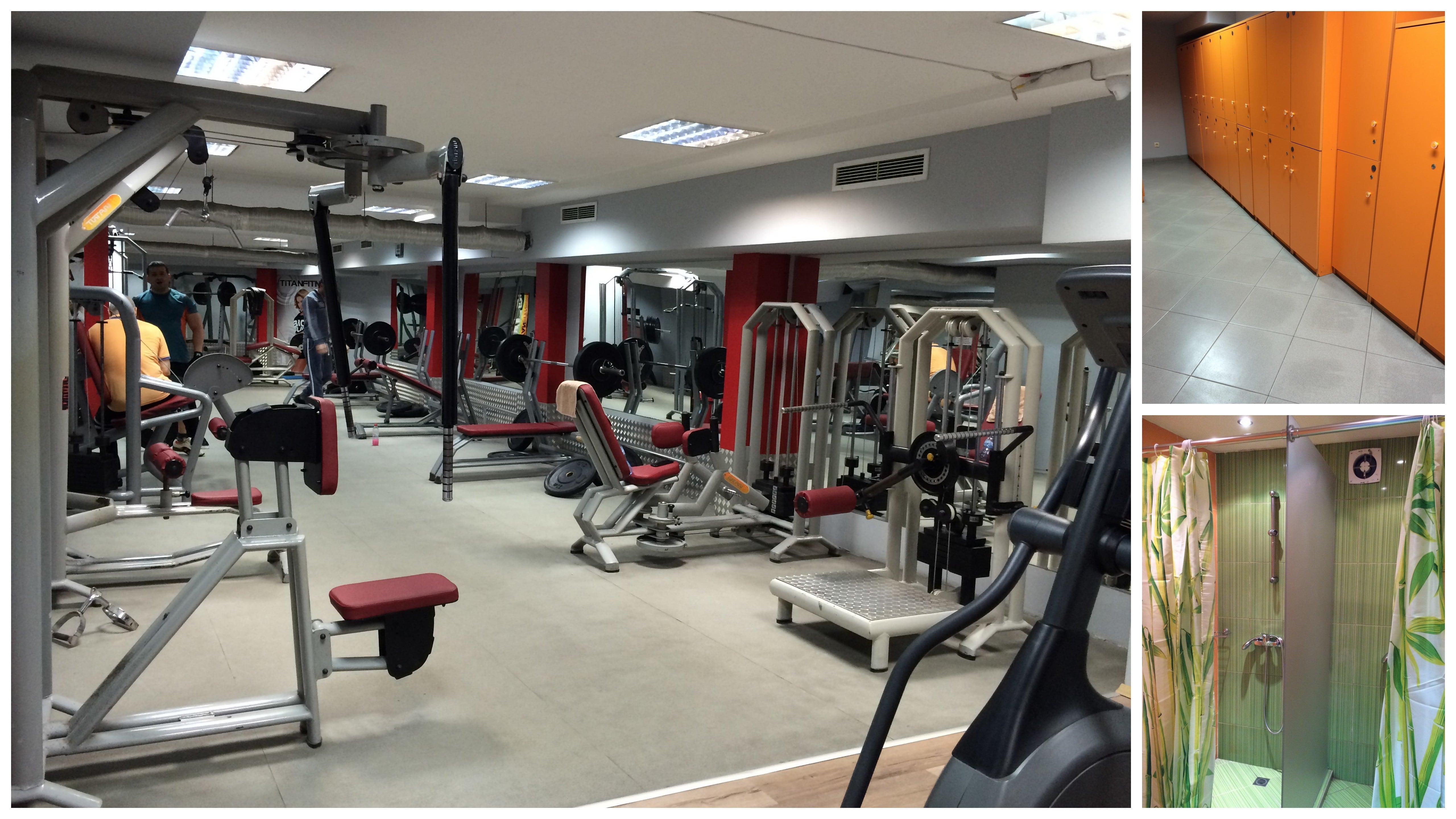 Фитнес център Титан, гр. Пловдив