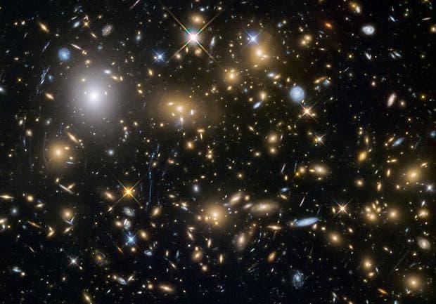 Вселената с много галактики