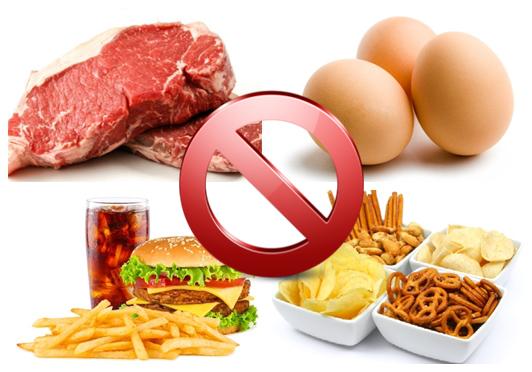Храни, водещи до висок холестерол