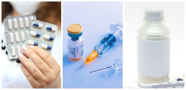 Лекарствени форми - антибиотици