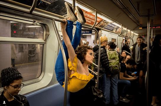 балерина в метрото