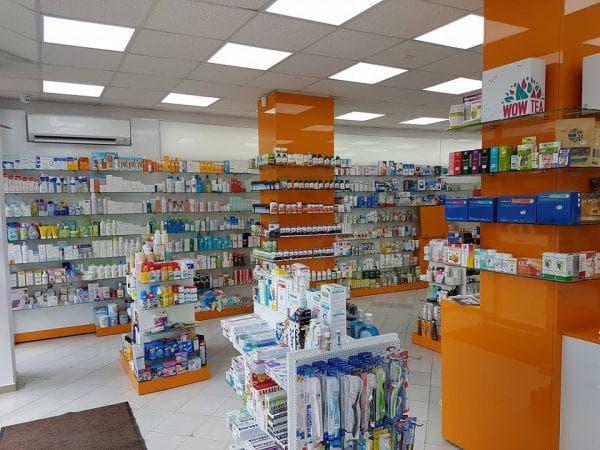 интериор на аптека фрамар 25