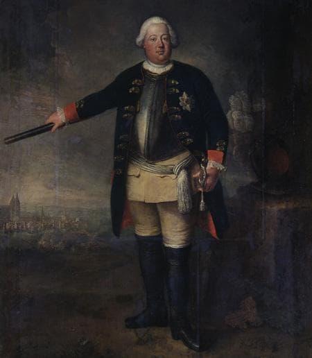 Пруският крал Фридрих Вилхелм I