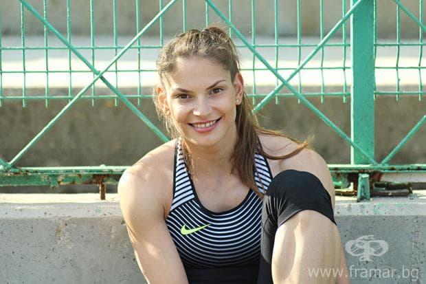 Габриела Петрова - троен скок