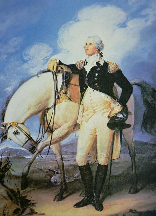 Джордж Вашингтон портрет