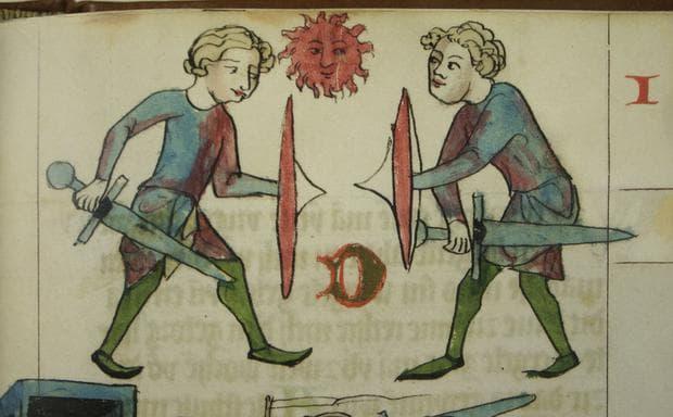 Дуел, имащ за цел да разреши спор между двма души