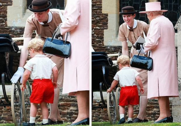 Кралска детегледачка